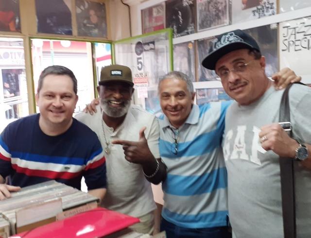 Fabio Rogerio(105FM) + Johnny + Décio(Produtor de Eventos)