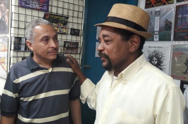 Visita do Carlos Dafé