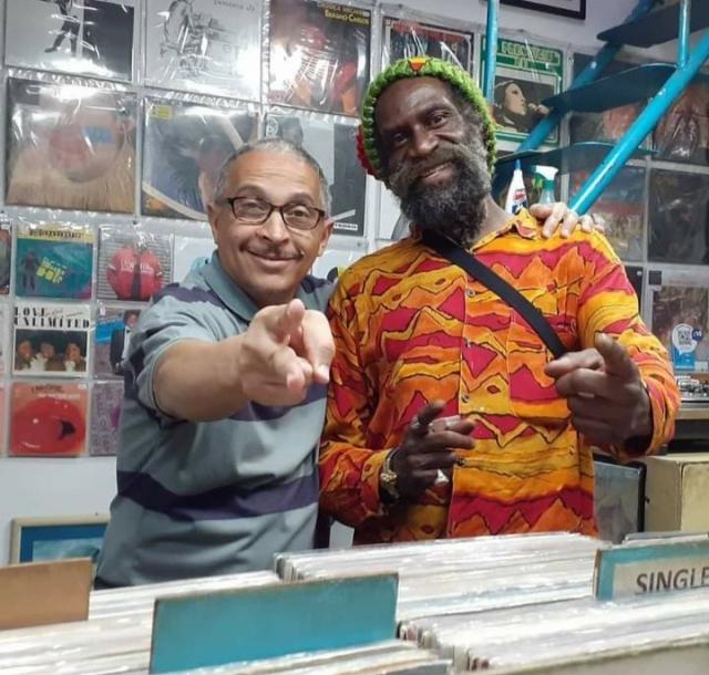 Visita do Cantor de Reggae DUB JUDAH (Inglaterra)