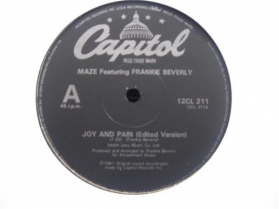 Maze Featuring Frankie Beverly ‎- Joy And Pain