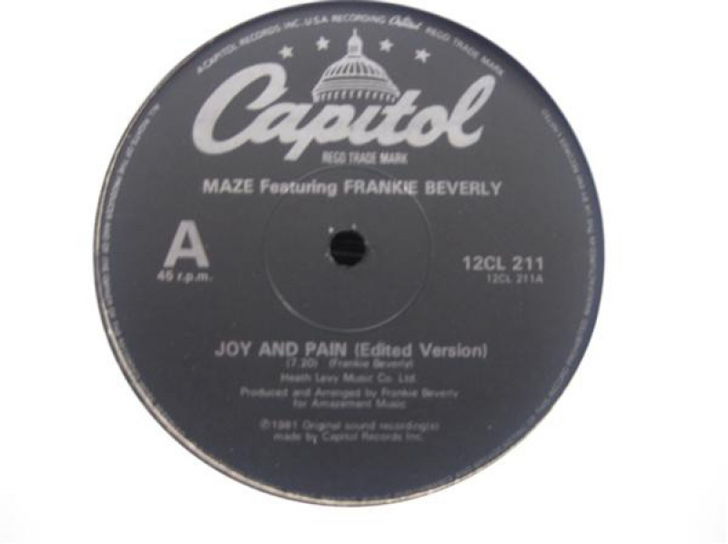 Maze Featuring Frankie Beverly - Joy And Pain