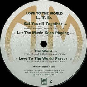 L.T.D. - Love To The World