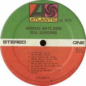 Average White Band ‎- Soul Searching
