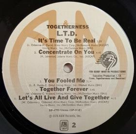 L.T.D. - Togetherness
