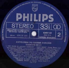 Quarteto Em Cy - Antologia Do Samba Canção
