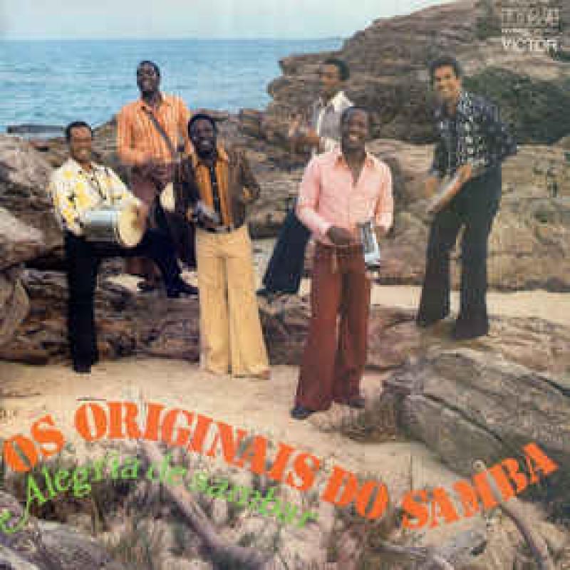 Os Originais Do Samba - Alegria De Sambar