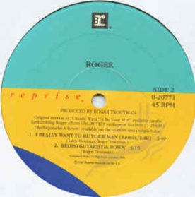 Roger - I Want To Be Your Man