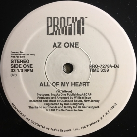 Az One ‎- All Of My Heart