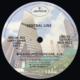 Central Line ‎- Walking Into Sunshine