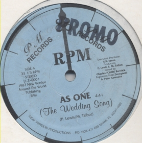 RPM (4) - As One (The Wedding Song)