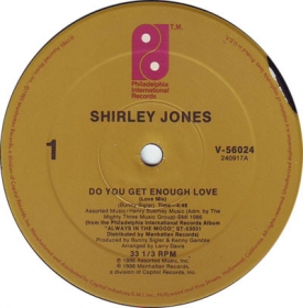 Shirley Jones - Do You Get Enough Love
