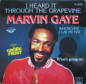Marvin Gaye ‎– I Heard It Through The Grapevine