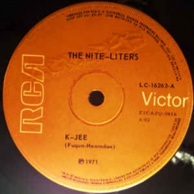 The Nite-Liters - K-Jee / Tanga Boo Gonk