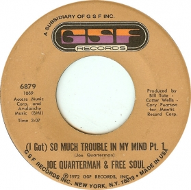Joe Quarterman and Free Soul - (I Got) So Much Trouble In My Mind