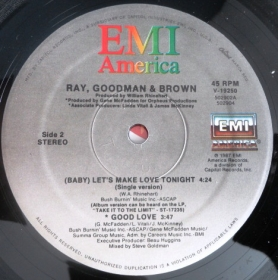 Ray, Goodman and Brown - (Baby) Let's Make Love Tonight