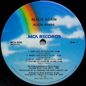 Alicia Myers - Alicia Again