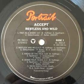 Accept - Restless E Wild