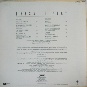 Paul McCartney - Press To Play