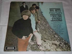 The Rolling Stones ‎- Big Hits - High Tide And Green Grass