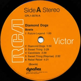 Bowie - Diamond Dogs