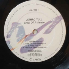 Jethro Tull ‎- Crest Of A Knave