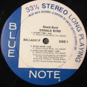 Donald Byrd - Black Byrd