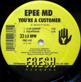 EPEE MD - It's My Thing / You're A Customer