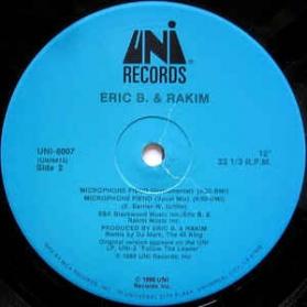 Eric B. and Rakim - Microphone Fiend