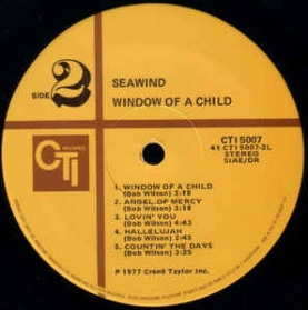 Seawind ‎- Window Of A Child
