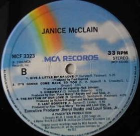 Janice McClain - Janice McClain
