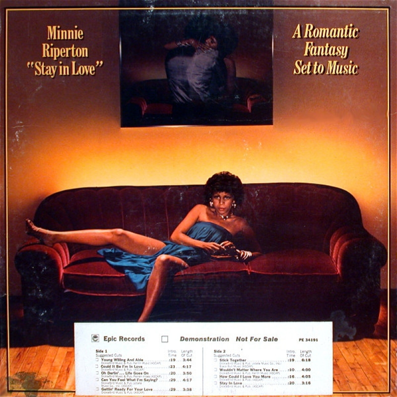 Minnie Riperton ‎- Stay In Love