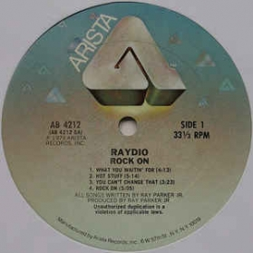 Raydio ‎- Rock On
