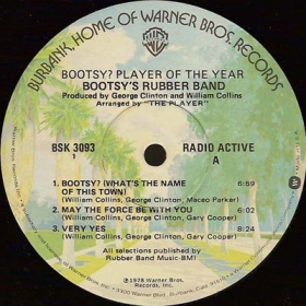 Bootsy's Rubber Band ‎- Bootsy? Player Of The Year