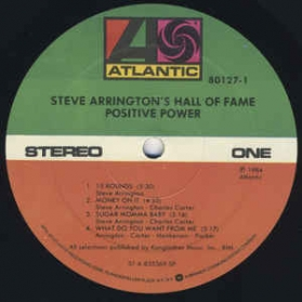 Steve Arrington's Hall Of Fame ‎- Positive Power