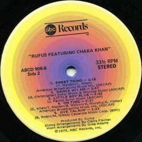 Rufus Featuring Chaka Khan - Rufus Featuring Chaka Khan