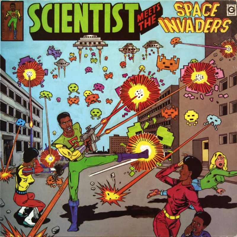 Scientist ‎- Scientist Meets The Space Invaders