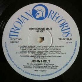 John Holt - 2000 Volts Of Holt