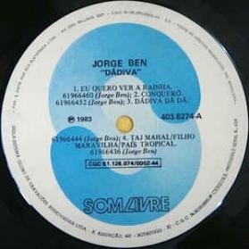 Jorge Ben - Dádiva