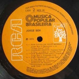 História Da Música Popular Brasileira - Jorge Ben