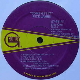 Rick James - Come Get It!