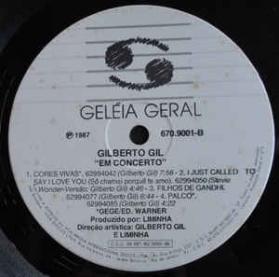 Gilberto Gil - Gilberto Em Concerto