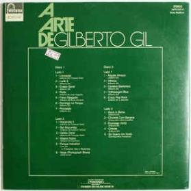 Gilberto Gil - A Arte De Gilberto Gil