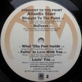 Atlantic Starr - Straight To The Point