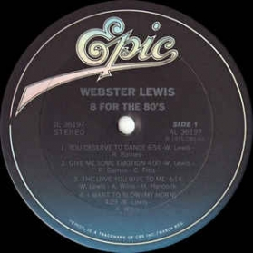 Webster Lewis - 8 For The 80s