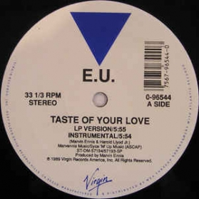 EU - Taste Of Your Love / Da Butt 89