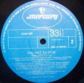 Bar-Kays - Too Hot To Stop