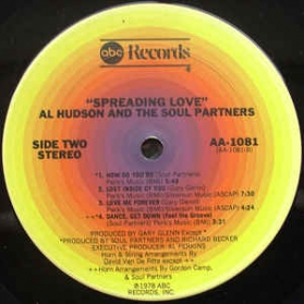 Al Hudson And The Soul Partner - Spreading Love