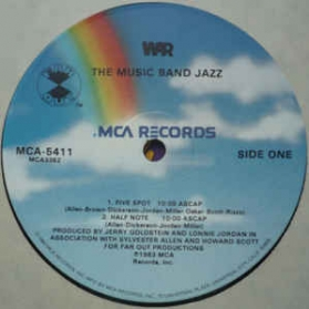 War - The Music Band Jazz
