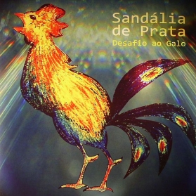 Sandália De Prata - Desafio Ao Galo
