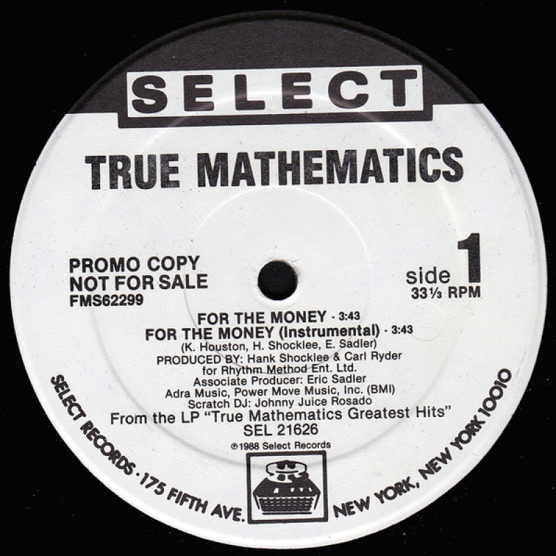 True Mathematics - For The Money / K.A.O.S.S. (Greeks In Effect pt. 2)